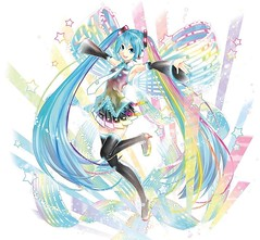 Omg someone please make this figure! This is the new art for 10th anniversary Hatsune Miku! #vocaloid  #miku #hatsunemiku #10thanniversary #anime #vocaloid01 #music #animeworld  #vocaloidworld