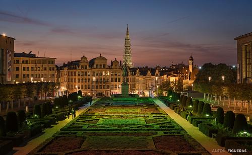 brussels bruxelles brusel·les belgium belgique bèlgique europe sunset night sonya7rii sony2470f4