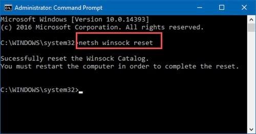 Hướng dẫn Reset kết nối Wifi trên Windows - Unidentified Network trên Windows 10