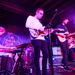Mon, 20/03/2017 - 8:20pm - Jersey's own Real Estate (Martin Courtney, Alex Bleeker, Matt Kallman, Jackson Pollis, Julian Lynch) perform for WFUV Members at The McKittrick Hotel in NYC, March 20, 2017. Hosted by Alisa Ali. Photo by Gus Philippas.