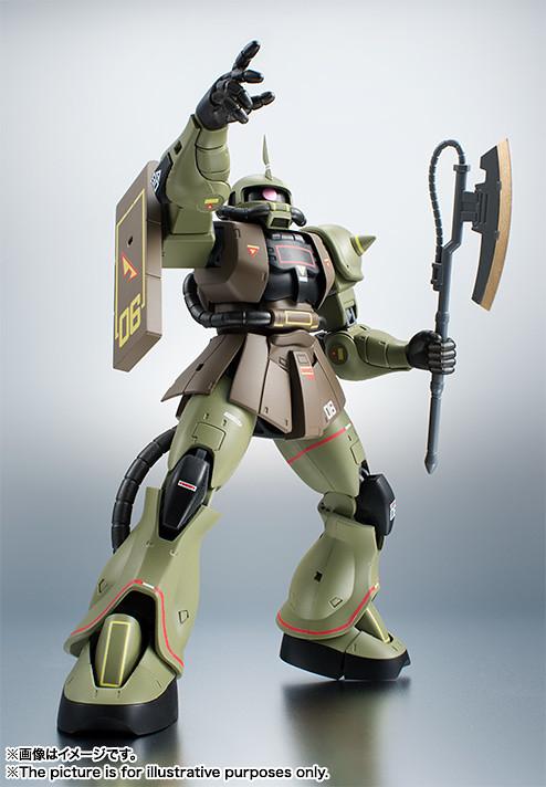 ROBOT魂 《機動戰士鋼彈》<SIDE MS> MS-06 薩克II(量産型ザク)   ver. A.N.I.M.E.  ~Real Type Color~ 【魂NATION 10th】