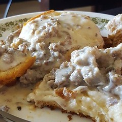 Biscuits n' gravy by my BFFs!