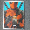 Another great print inspired by Deadpool from Joshua Budich #richardgoodallgallery #joshuabudich #deadpool
