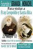 CARTEL VIAJE FRAY LEOPOLDO Y SANTA RITA GRANADA MONACHIL