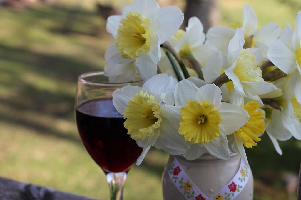 Daffodils and Wine