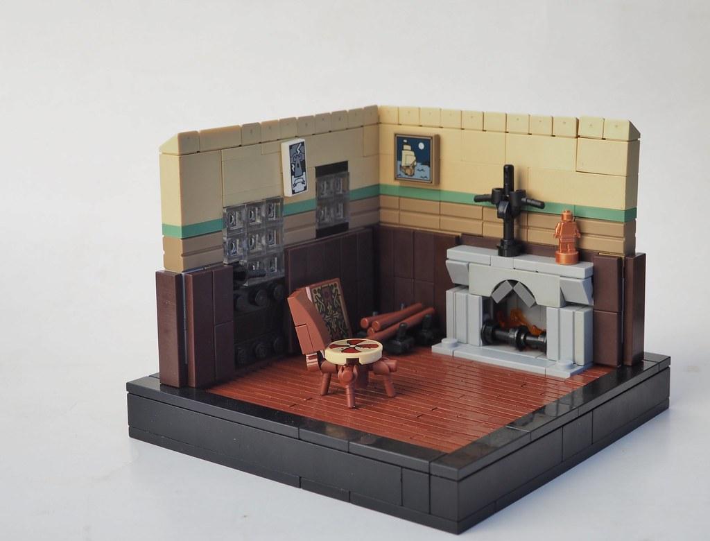 #3. A Just Man (Les Miserables) (custom built Lego model)