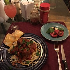 Late Night Spaghetti Dinner