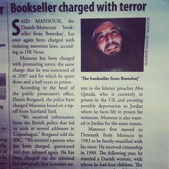 "As the saying goes ""know thy #bookseller as yourself"". #books #terrorism #brønshøj #denmark #danmark #bookish #crazyworld"