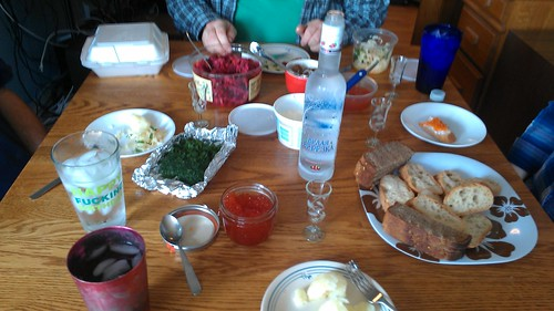 Vodka and caviar party by christopher575