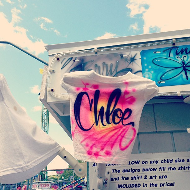 Airbrushed Chloe, Palace Playland, Old Orchard Beach