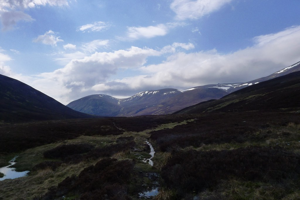 Ben Avon from Glen Gairn