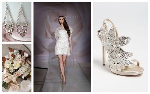 {The Great Gatsby} Bridal Style by Nina Renee Designs
