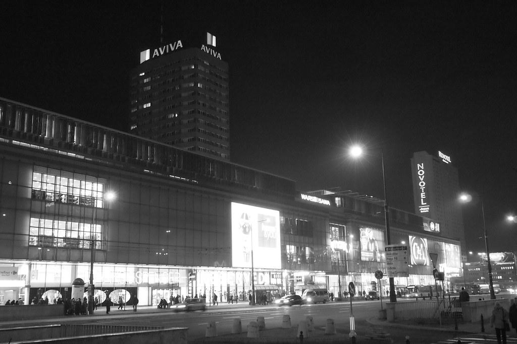 Varsova valaistus