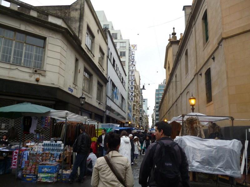 San Telmo Sunday flea market