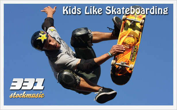 Kids Like Skateboarding 01