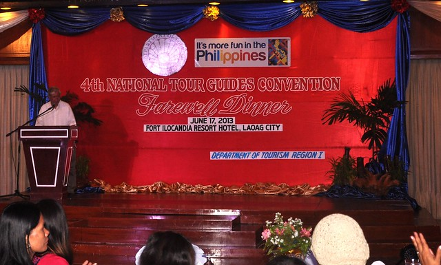 4th National Tour Guides Convention, Fort Ilocandia Resort Hotel