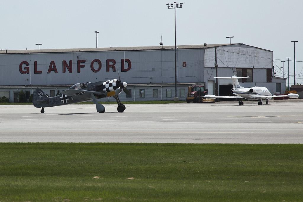 Hamilton Airshow FW190