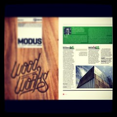 UNDA workshop featured in MODUS Magazine #unda_design #carpav #wood #architecture #cork #exclusive #materials #decor #home