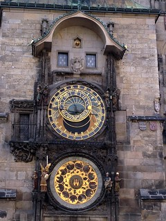 The Prague Astronomical Clock or Prague Orloj