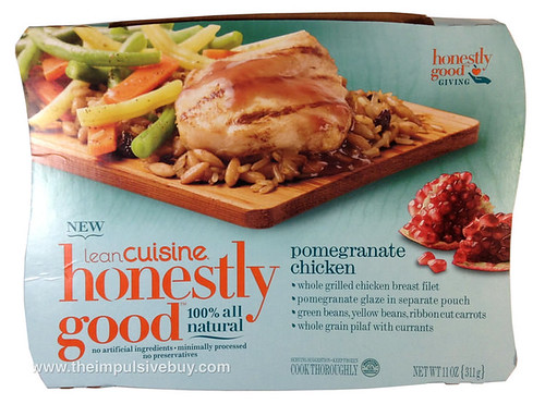 Quick review lean cuisine honestly good pomegranate for Are lean cuisine meals good for you