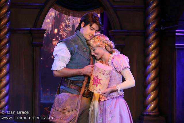 Fantasy Faire Rapunzel show