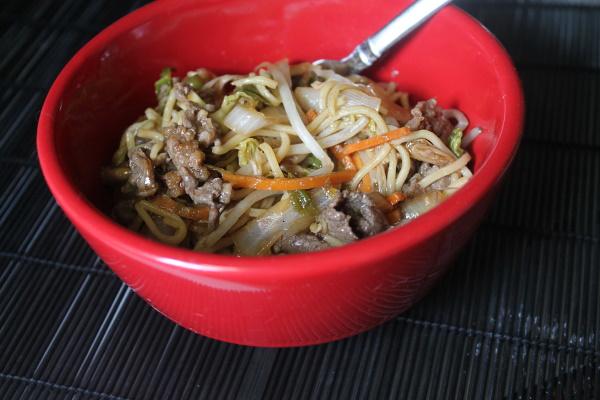 Yakisoba from Takashi's Noodles
