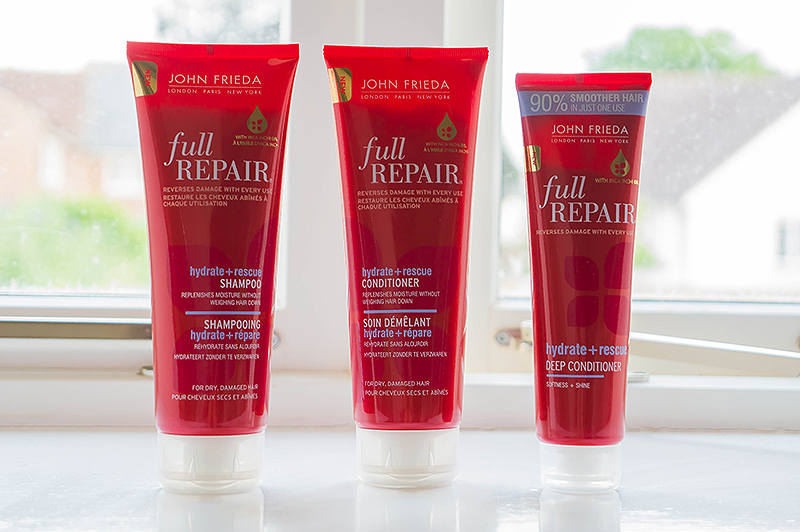 John Frieda Full Repair: Hydrate + Rescue | www.latenightnonsense.com