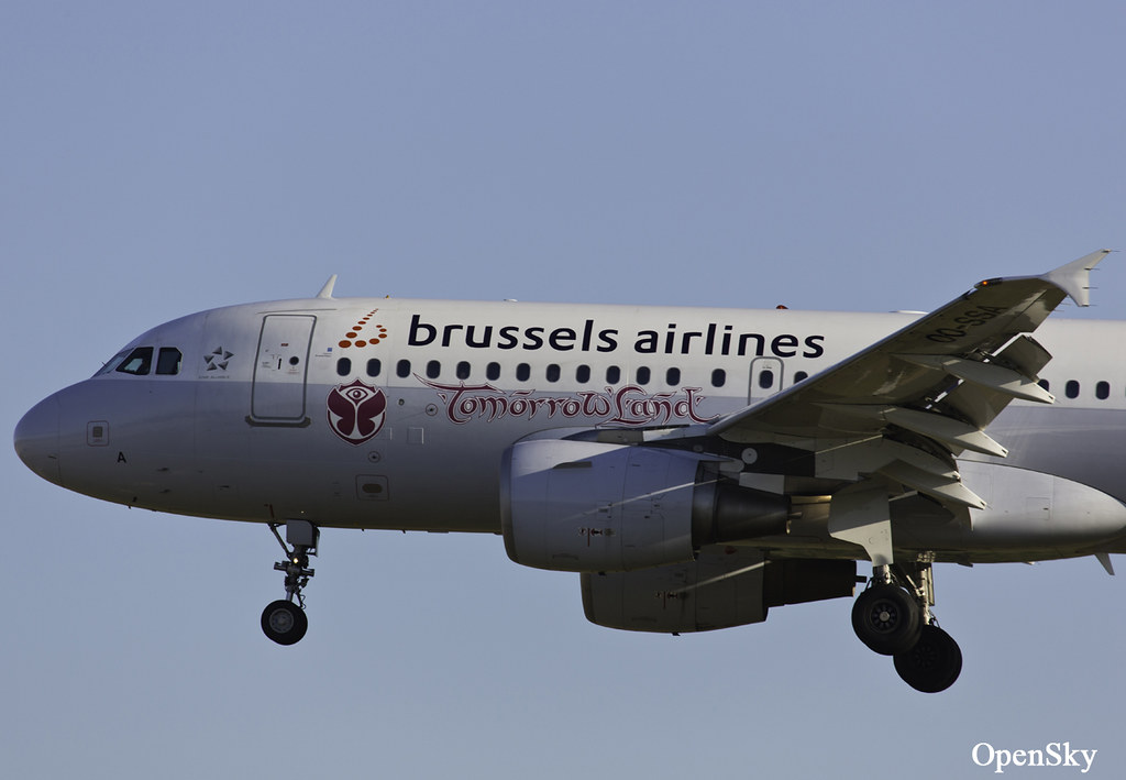 Brussels Airlines Airbus A319-111 OO-SSA