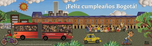 Bogotá 475 años by alter eddie