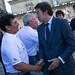 2013: Recepción con el Presidente de la Xunta por victoria en 32 Copa Rey MAPFRE