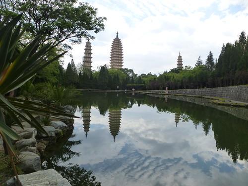 Yunnan13-Dali-1. Pagodes-étang (19)
