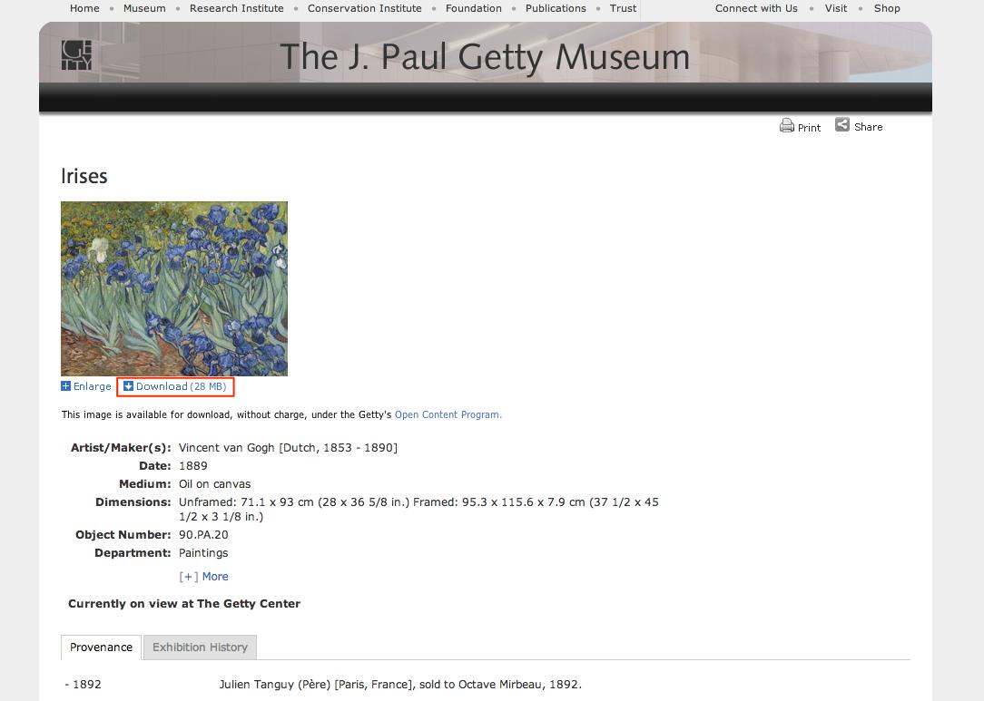 Getty Search Gateway 4