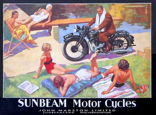 1935 Sunbeam Ladie's Man by bullittmcqueen
