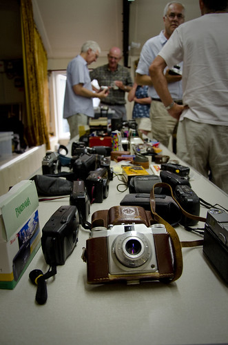 A whole lotta cameras at Photoclub