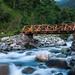 India - Bridge to Thimran, Kashmir by sandeepachetan.com