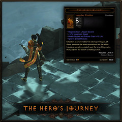 Diablo III for PS3: Hero's Journey (exclusive PlayStation item)