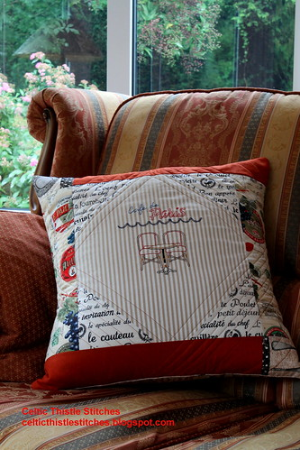 Completed Cafe Cushion