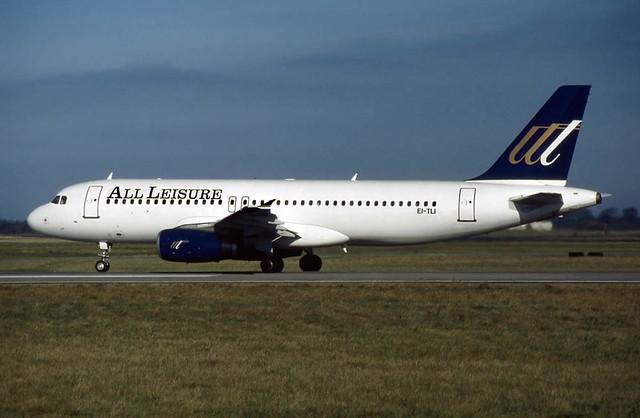 Airbus A320-231 EI-TLI