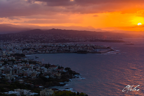 Sunset at Chania 2