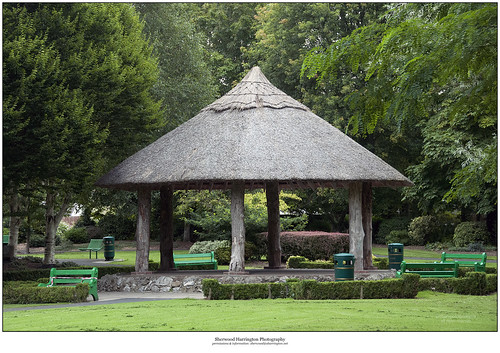ireland gazebo thatch thatchedroof limerick adare