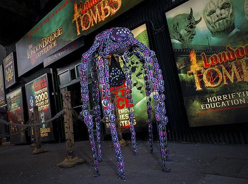 Cadbury Crunchy Spider for Halloween