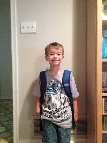 Brenden 1st Grade Start