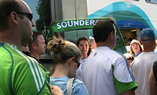 Sounders FC Sounder Train
