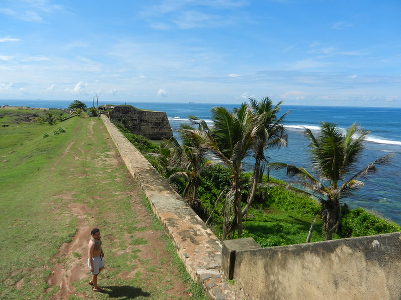 Форт в Галле, Шри Ланка
