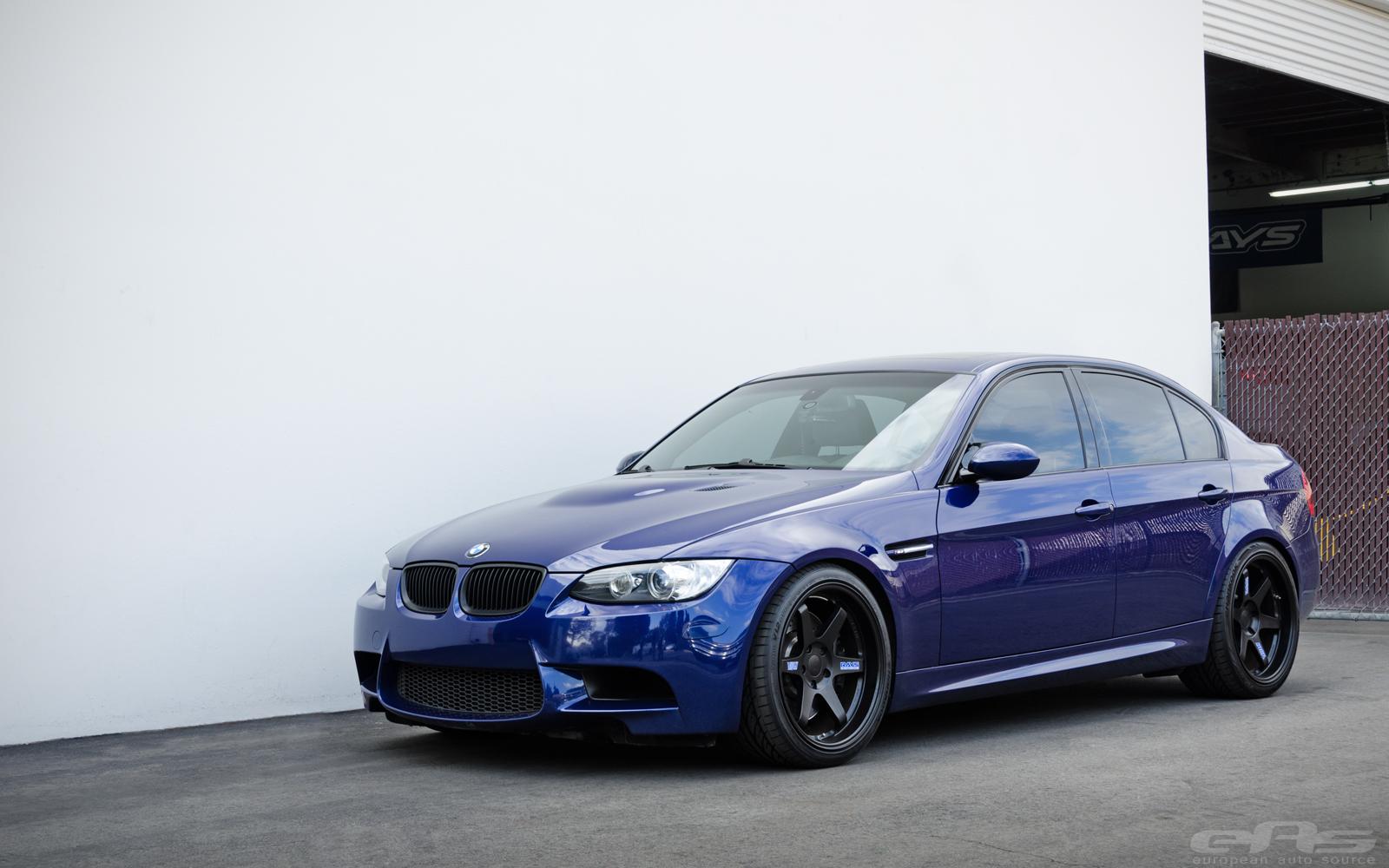 Interlagos Blue E46 M3 >> Interlagos Blue M3 on Black TE37s | BMW Performance Parts & Services
