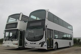 Coach services CS63BUS & X589EGK (c) Alan Cooper