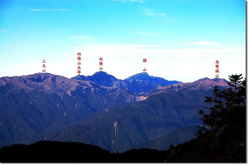 向陽、關山(From 馬西山西南眺) 1-1