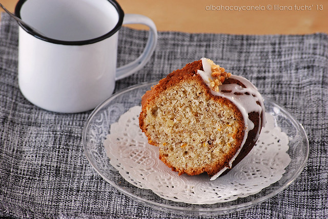 Hazelnut orange bundt cake