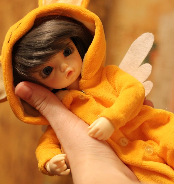A Doll a Day-5. in the palm of the hand