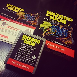 Wizard of Wor for the Atari 2600.